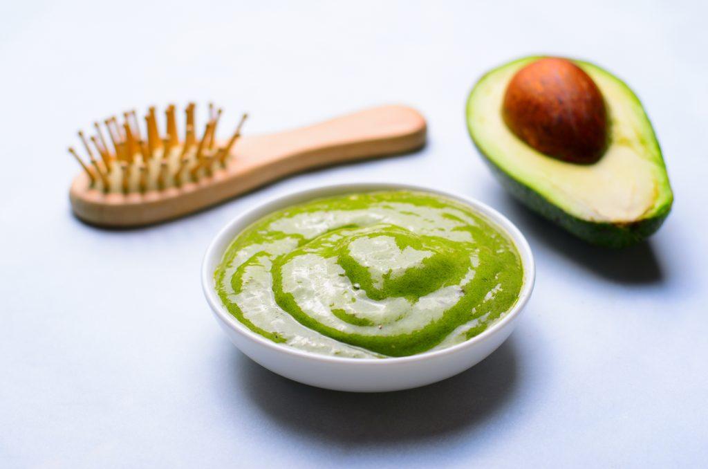avocado mask to strengthen hair