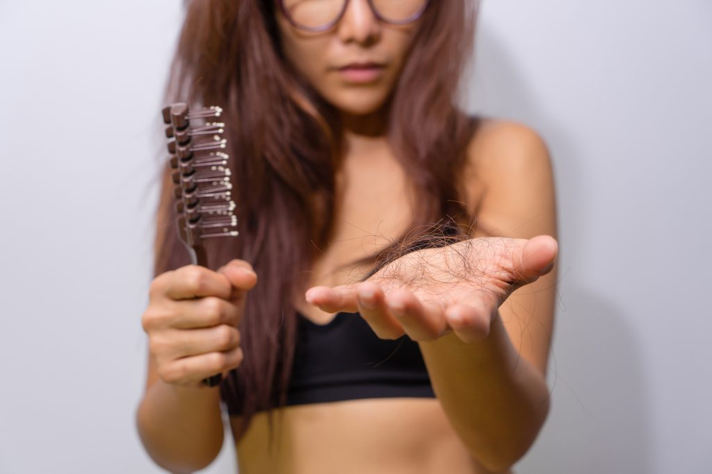 why your hair starts shedding