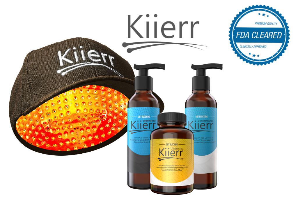 kiierr laser cap - #1 choice for best laser cap of 2021